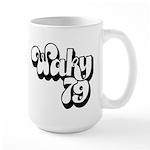 WAKY Louisville 1973 - Large Mug