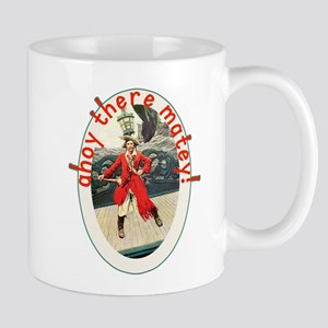 Ahoy There Matey! Pirate Day Tshirt Mug