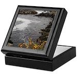 Seal Rock Coastal Scene Keepsake Box