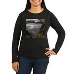 Seal Rock Coastal Scene Long Sleeve T-Shirt