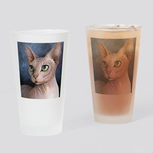 Cat 578 Drinking Glass