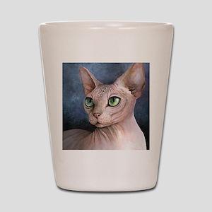 Cat 578 Shot Glass