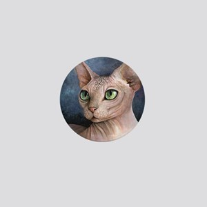 Cat 578 Mini Button