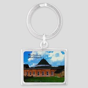 Martinsburg WV Landscape Keychain