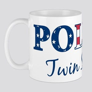 Police Twin Sister - patrioti Mug