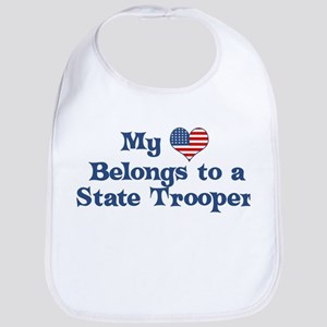 My Heart: State Trooper Bib