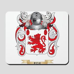 Fox Coat of Arms Mousepad