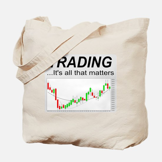 Unique Day trader Tote Bag