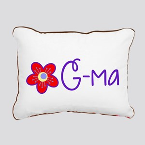 My Fun G-ma Rectangular Canvas Pillow