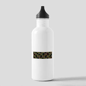 Ticker Water Bottle