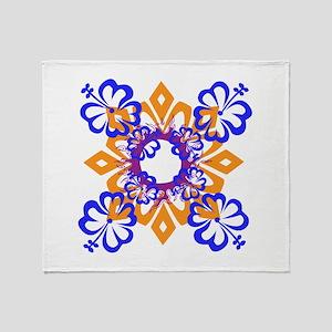 Flower Essence Throw Blanket