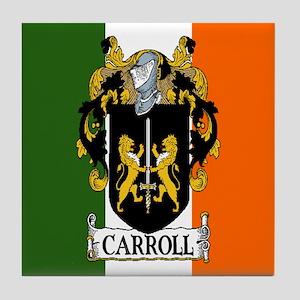 Carroll Arms Flag Tile Coaster
