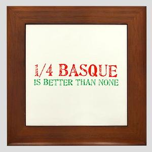 Quarter Basque Framed Tile