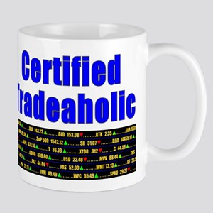 Certified tradeaholic Mug