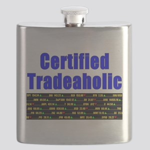 Certified tradeaholic Flask