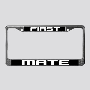 First Mate License Plate Frame