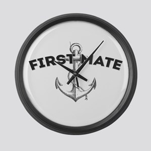 First Mate Large Wall Clock