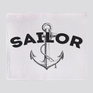 Sailor Throw Blanket