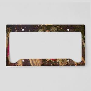 Primavera by Botticelli License Plate Holder