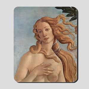 Birth of Venus by Botticelli Mousepad