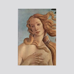 Birth of Venus by Botticelli Rectangle Magnet