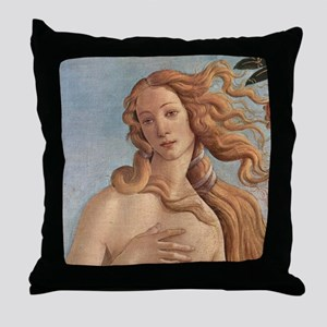 Birth of Venus by Botticelli Throw Pillow
