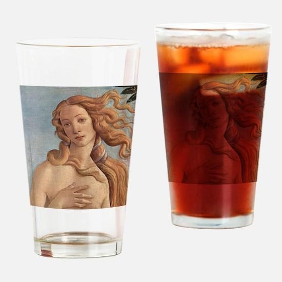 Birth of Venus by Botticelli Drinking Glass