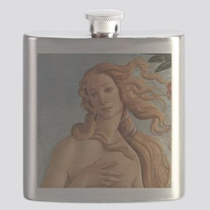 Birth of Venus by Botticelli Flask