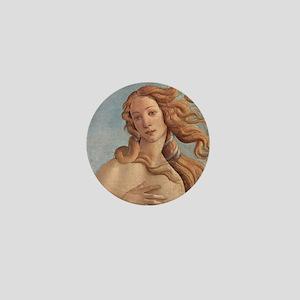 Birth of Venus by Botticelli Mini Button