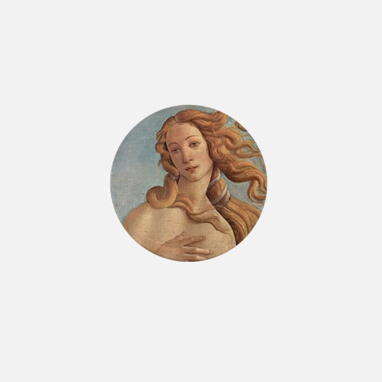 Birth of Venus by Botticelli Mini Button