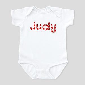 Judy - Candy Cane Infant Bodysuit