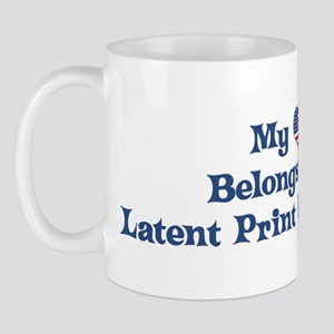 My Heart: Latent Print Examin Mug