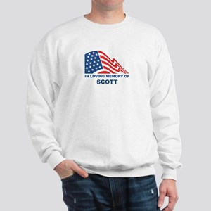 Loving Memory of Scott Sweatshirt