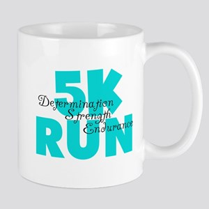 5K Run Aqua Mug