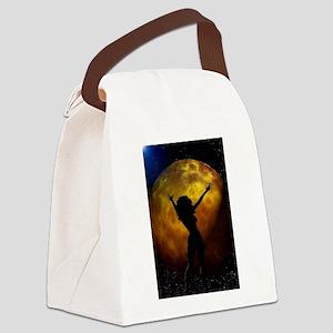 moondance Canvas Lunch Bag
