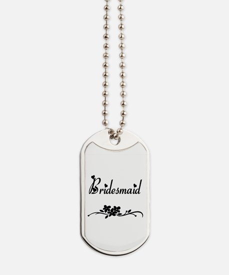 Classic Bridesmaids Dog Tags