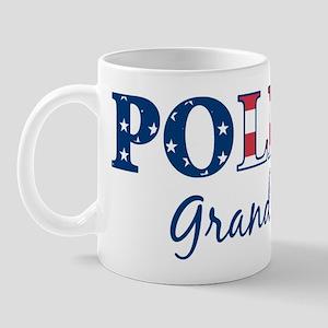 Police Grandson - patriotic Mug
