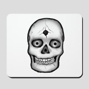 Skull Shot (Best for Dark) Mousepad