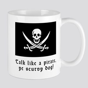 Jolly Roger Talk Like a Pirate Mug
