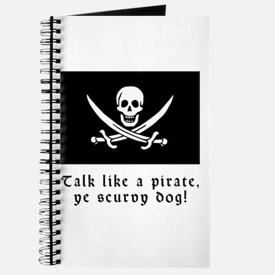 Jolly Roger Talk Like a Pirate Journal