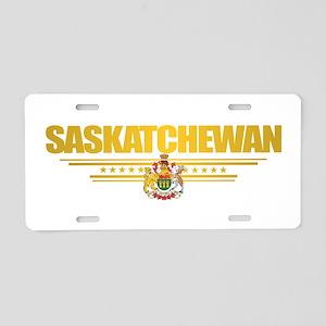 Saskatchewan Coat of Arms Aluminum License Plate