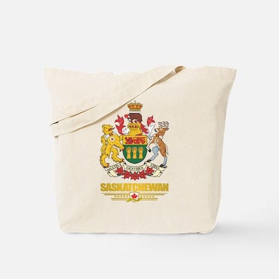 Saskatchewan Coat of Arms Tote Bag