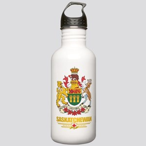 Saskatchewan Coat of Arms Water Bottle
