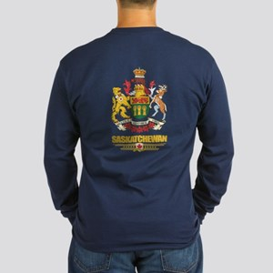 Saskatchewan Coat of Arms Long Sleeve T-Shirt