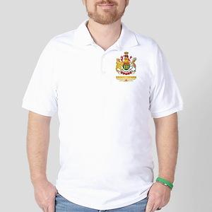 Saskatchewan Coat of Arms Golf Shirt