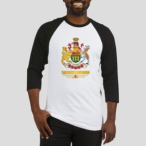 Saskatchewan Coat of Arms Baseball Jersey