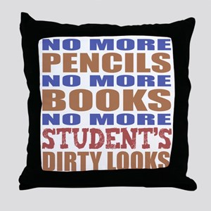 Teacher Retirement Gift Idea Throw Pillow