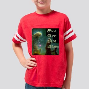 10x10 You Are Not Alone Mural Youth Football Shirt
