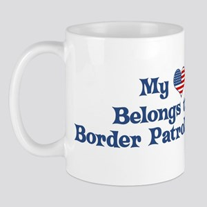 My Heart: Border Patrol Agent Mug