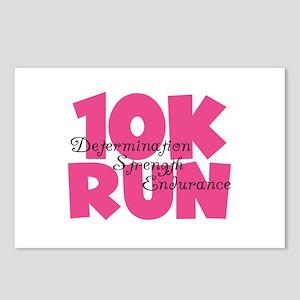 10K Run Pink Postcards (Package of 8)